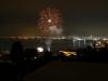 Fuochi d'artificio su Napoli