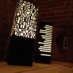 Lampade realizzate con laser cutter
